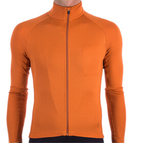 Isadore Langarm Trikot Herren burnt orange